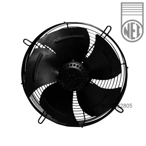 8 inch single phase round framed Hi cool Axial fan AC