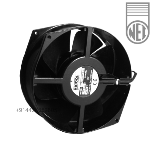 4 inch round framed Hi cool compact fan AC