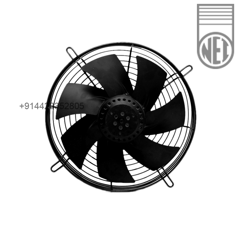 20 Axial Fan : Inch single phase round framed hi cool axial fan ac
